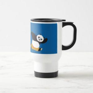 Po Playing with Pandas Travel Mug
