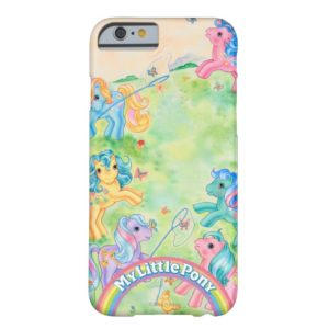 Ponies Catching Butterflies Case-Mate iPhone Case