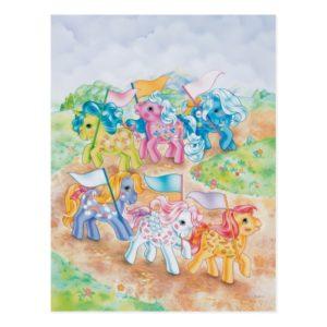 Pony Parade Postcard