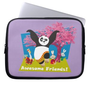 Po's Awesome Friends Computer Sleeve