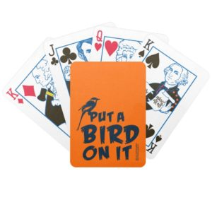 Put a Bird On It! Bicycle Playing Cards