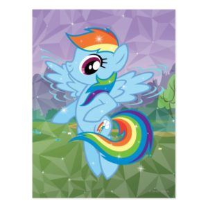 Rainbow Dash Postcard