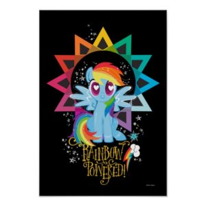 Rainbow Dash | Rainbow Powered Poster