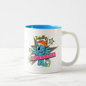 Rainbow Dash | Totally Awesome! Two-Tone Coffee Mug