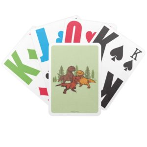 Ranchers Sketch Bicycle Playing Cards