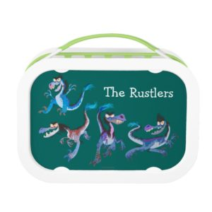Raptor Group Graphic Lunch Box