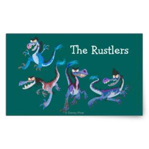 Raptor Group Graphic Rectangular Sticker