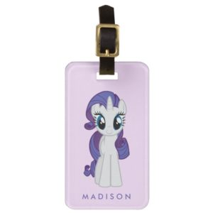 Rarity | Believe In The Magic Of Unicorns Bag Tag