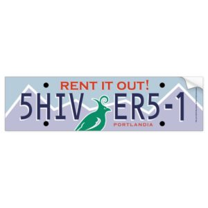 Rent it Out! Bumper Sticker