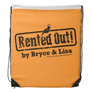 Rented Out! Drawstring Backpack