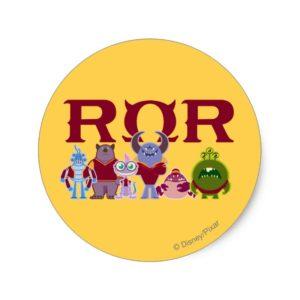 ROR - Scare Students Classic Round Sticker