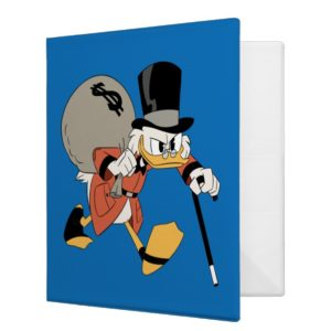 Scrooge McDuck | Find Your Fortune 3 Ring Binder