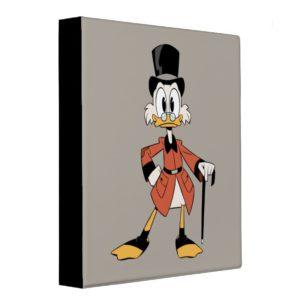 Scrooge McDuck | Work Hard Quack Hard 3 Ring Binder