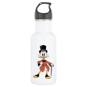 Scrooge McDuck | Work Hard Quack Hard Stainless Steel Water Bottle