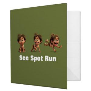 See Spot Run 3 Ring Binder