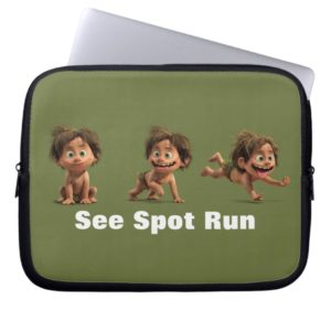 See Spot Run Laptop Sleeve