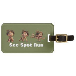 See Spot Run Luggage Tag