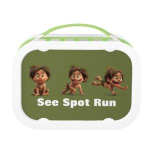 See Spot Run Lunch Box