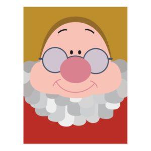 Seven Dwarfs - Doc Character Body Postcard