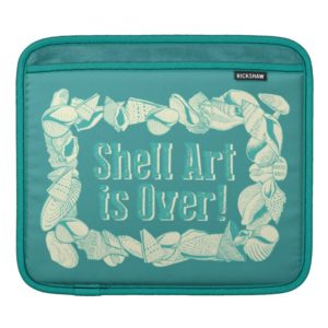 Shell Art is Over! Sleeve For iPads