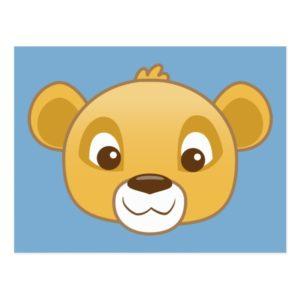 Simba Emoji Postcard