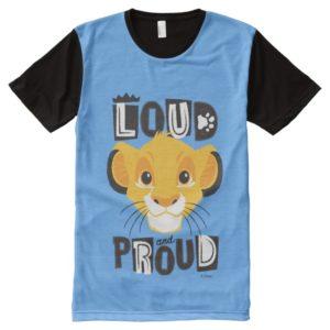 Simba   Loud And Proud All-Over-Print T-Shirt