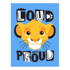 Simba | Loud And Proud Postcard