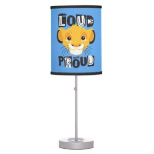 Simba | Loud And Proud Table Lamp