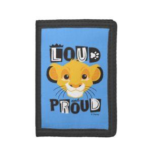 Simba | Loud And Proud Tri-fold Wallet