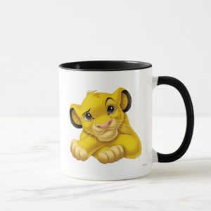 Simba The Lion King Raised Eyebrow Disney Mug