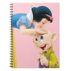Snow White Kissing Dopey on the Head Notebook