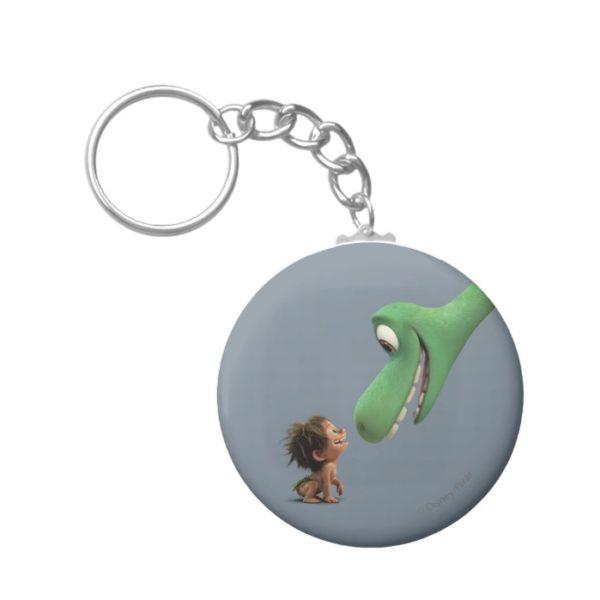 Spot And Arlo Closeup Keychain