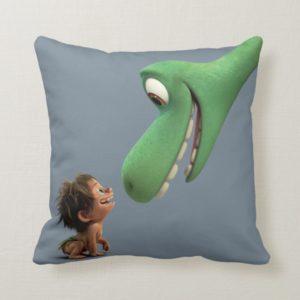 Spot And Arlo Closeup Throw Pillow