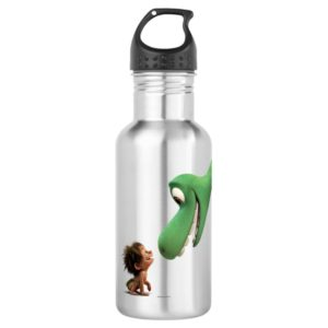 Spot And Arlo Closeup Water Bottle