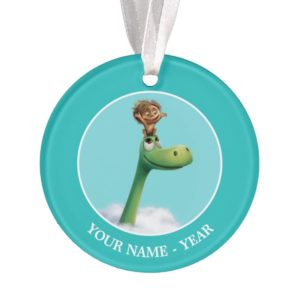 Spot And Arlo Head In Clouds Ornament