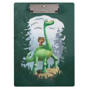 Spot And Arlo In Forest Clipboard