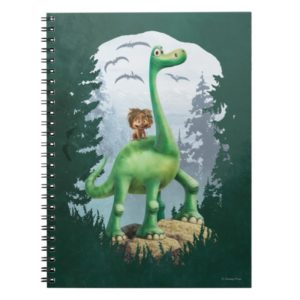 Spot And Arlo In Forest Notebook