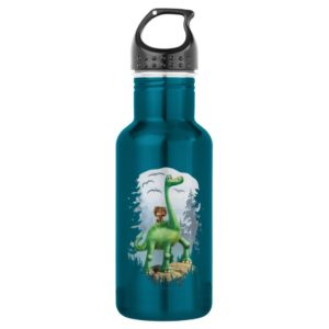Spot And Arlo In Forest Stainless Steel Water Bottle
