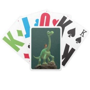 Spot And Arlo On Rock Bicycle Playing Cards