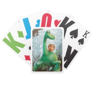Spot And Arlo Walking Through Forest Bicycle Playing Cards