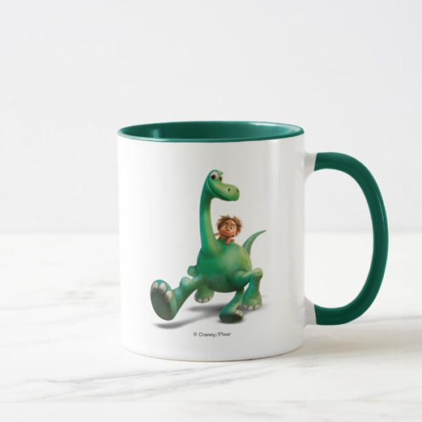 Spot And Arlo Walking Through Forest Mug