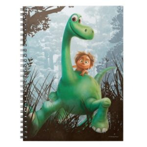 Spot And Arlo Walking Through Forest Notebook