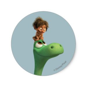 Spot On Arlo's Head Classic Round Sticker