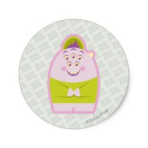 Squishy 1 classic round sticker