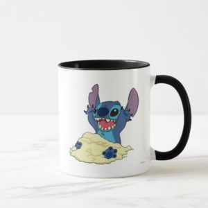 Stich Playing in Sand Disney Mug