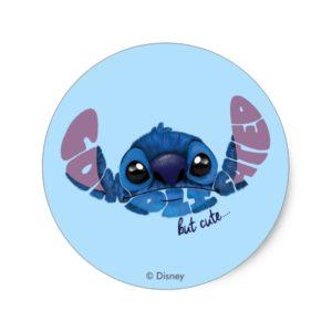 Stitch | Complicated But Cute 2 Classic Round Sticker