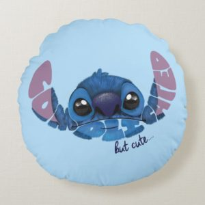 Stitch | Complicated But Cute 2 Round Pillow