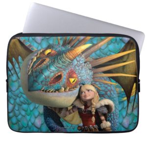 Stormfly And Astrid Laptop Sleeve