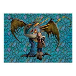 Stormfly And Astrid Poster
