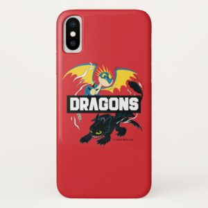 """Stormfly & Toothless """"Dragons"""" Graphic Case-Mate iPhone Case"""